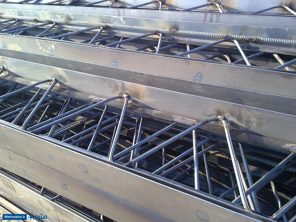 تیرچه فلزی سقف کرومیت